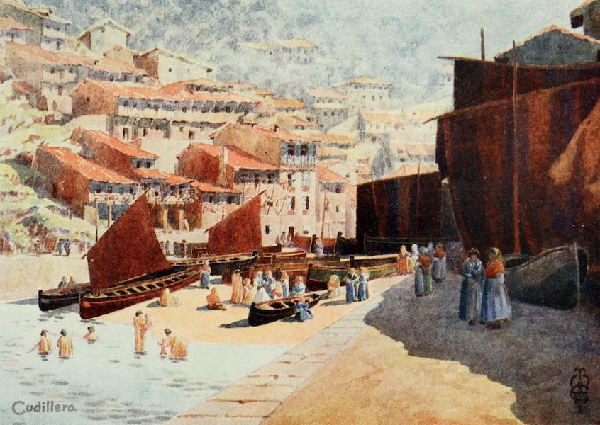 Northern Spain, Painted and Described - Cudillero. The Harbour (1906)