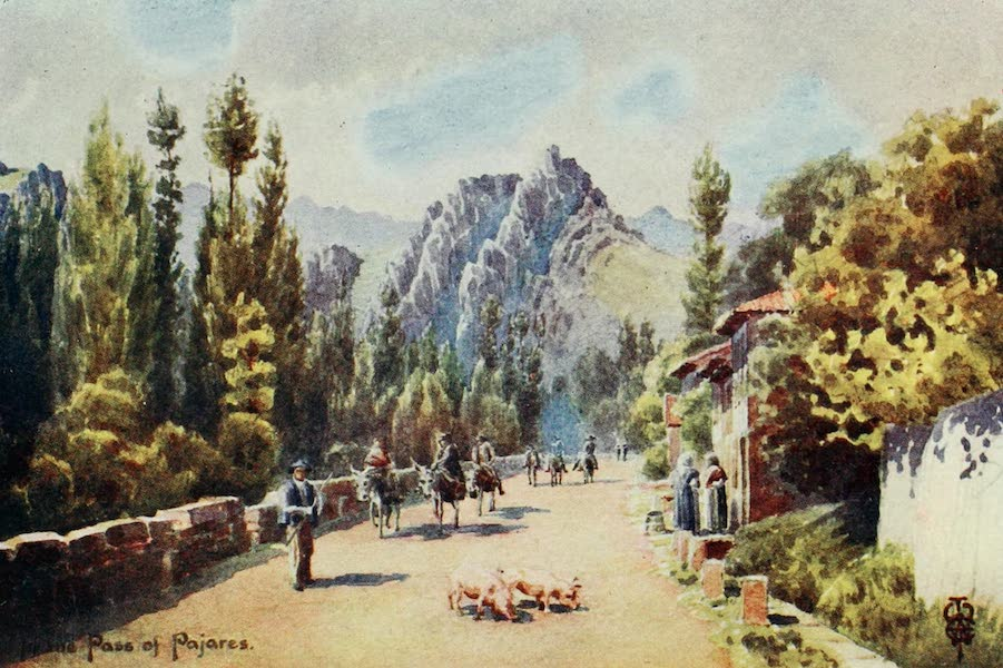 Northern Spain, Painted and Described - In the Pass of Pajares. Near Pola de Gordon (1906)