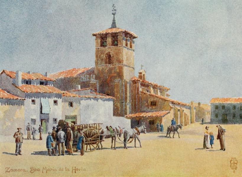 Northern Spain, Painted and Described - Zamora. Church of Sta Maria de la Horta (1906)