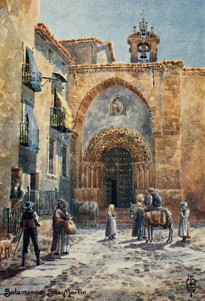 Northern Spain, Painted and Described - Salamanca. Church of San Martin (1906)