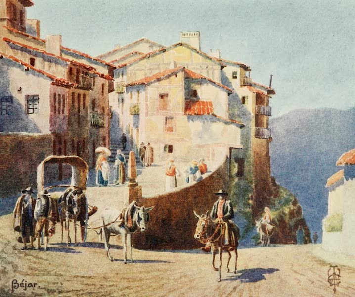 Northern Spain, Painted and Described - Bejar. An Approach to the Town (1906)