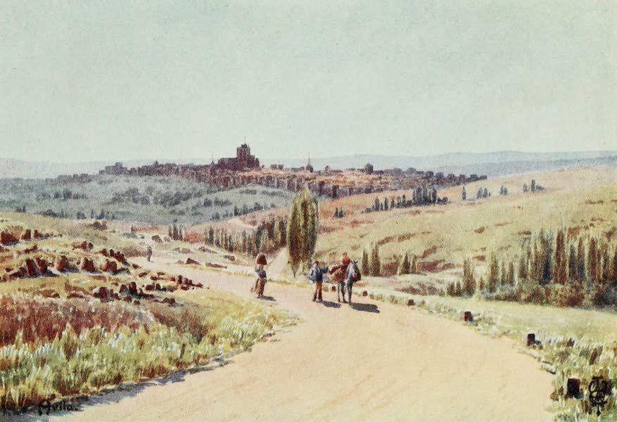 Northern Spain, Painted and Described - Avila. From the North-west (1906)