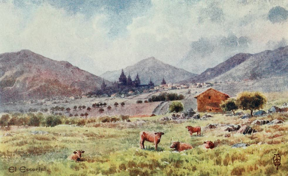 Northern Spain, Painted and Described - Escorial. From the East (1906)