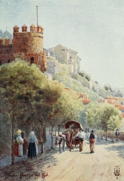 Northern Spain, Painted and Described - Toledo. Puerta del Sol (1906)