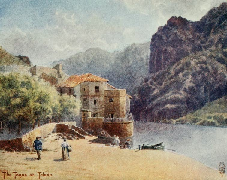 Northern Spain, Painted and Described - Toledo. The Gorge of the Tagus (1906)