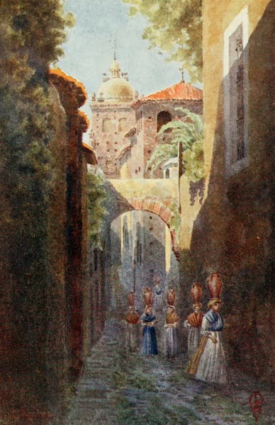 Northern Spain, Painted and Described - Caceres. Within the old Town Walls (1906)