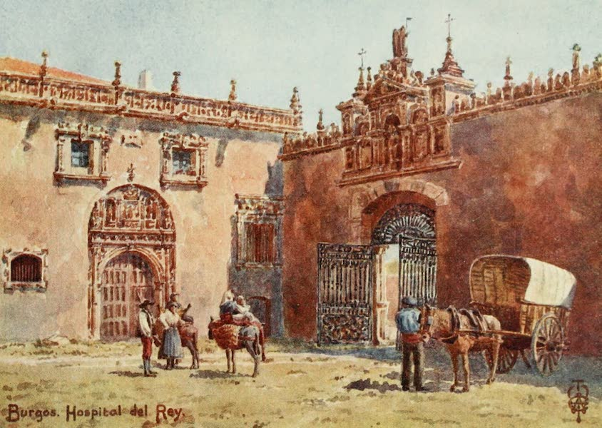 Northern Spain, Painted and Described - Burgos. Hospital del Rey (1906)