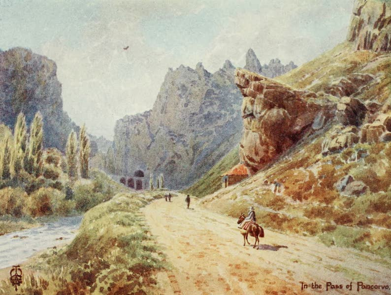 Northern Spain, Painted and Described - The Gorge of Pancorvo (1906)