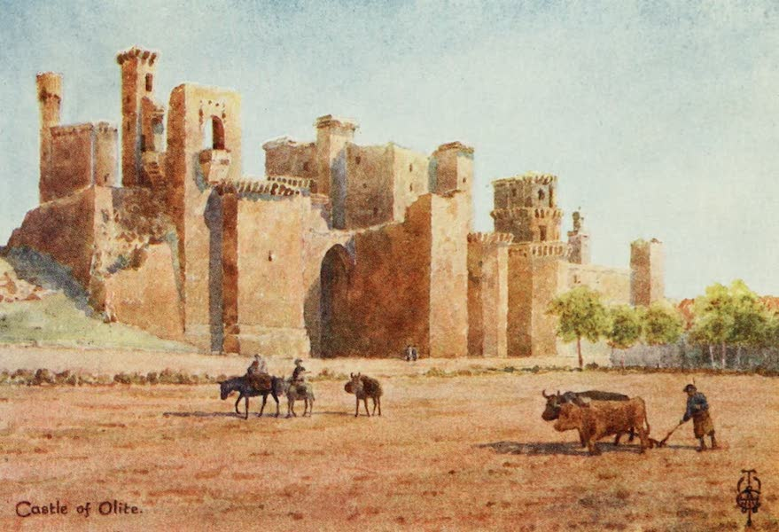 Northern Spain, Painted and Described - Olite. The Castle (1906)