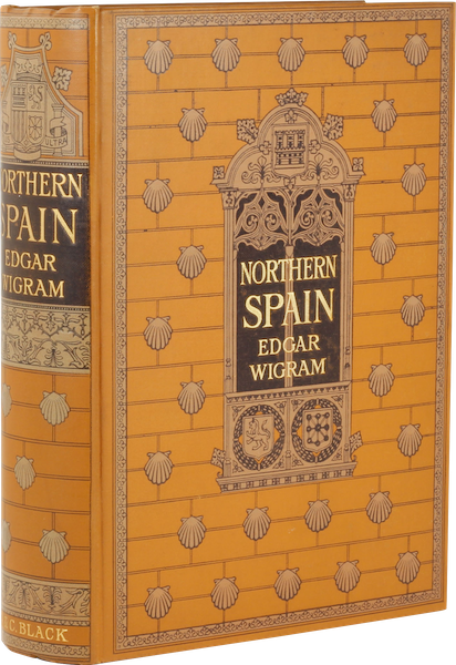 Northern Spain, Painted and Described - Book Display (1906)