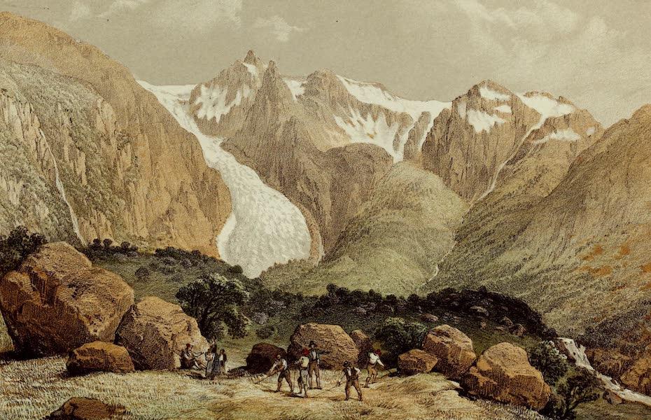 Norway and its Glaciers - Glacier of Bondhuus (1853)