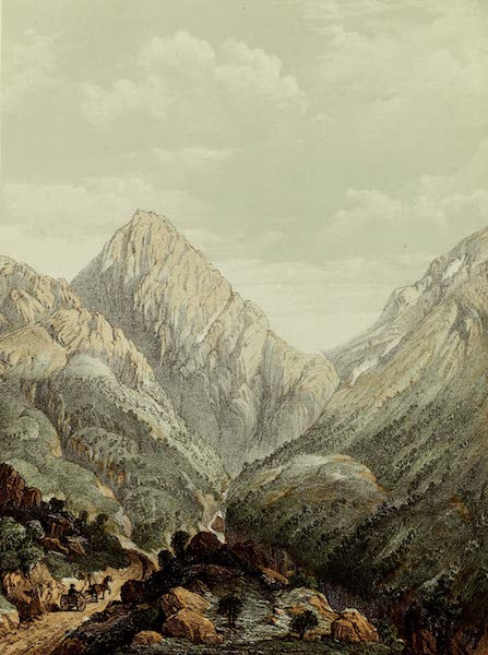 Norway and its Glaciers - Vaarstige Dovre-Field (1853)
