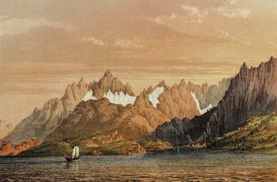 Norway and its Glaciers - Rafte Sund Lofodden (1853)