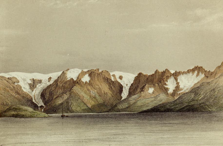 Norway and its Glaciers - Glaciers of the Nus Fiord (1853)