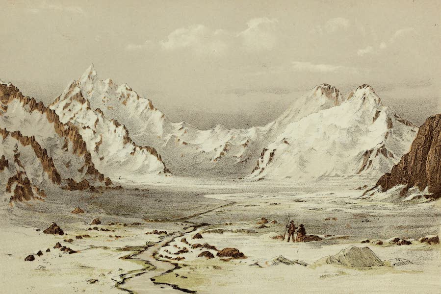 Norway and its Glaciers - The Jungfrau from the Glacier of Aletsch (1853)