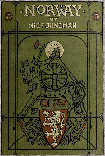 Norway, Painted and Described - Front Cover (1905)