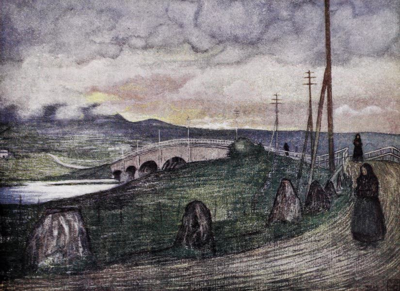 Norway, Painted and Described - The Road to Hell, near Trondhjem (1905)