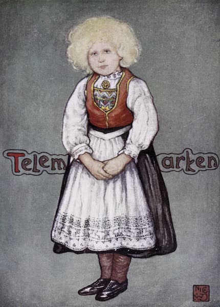 Norway, Painted and Described - Little Girl of Telemarken (1905)