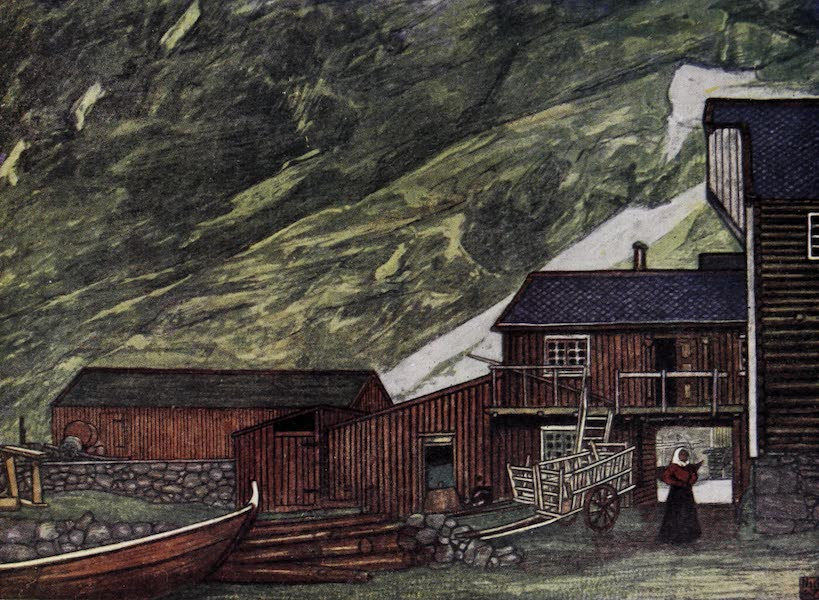 Norway, Painted and Described - On the Fjord, Sundalsoren (1905)