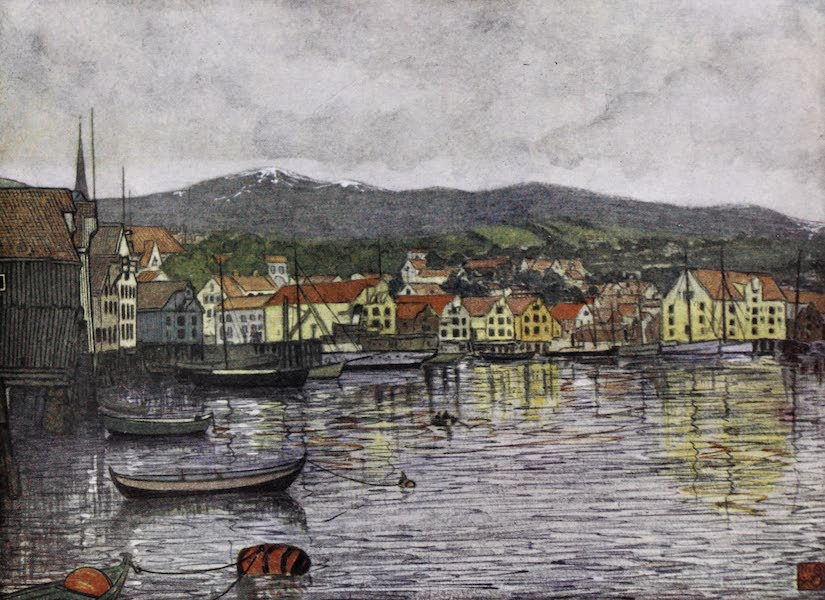 Norway, Painted and Described - The Town of Molde (1905)