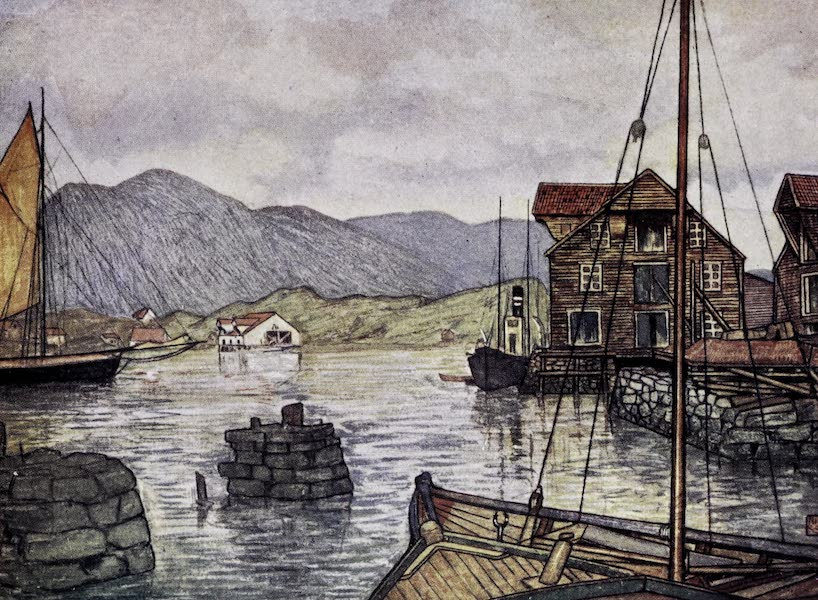 Norway, Painted and Described - Moldoen [I] (1905)