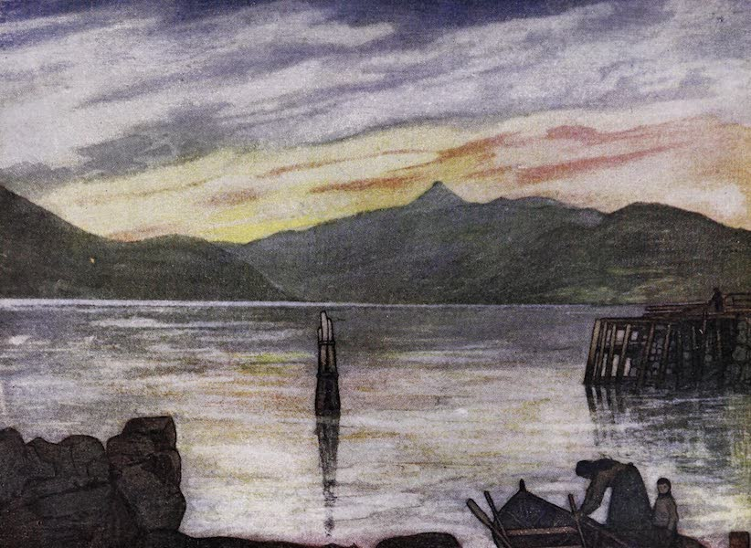 Norway, Painted and Described - Sundalsfjord (1905)