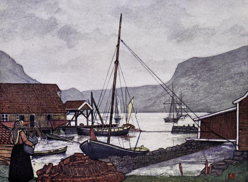 Norway, Painted and Described - Moldoen [II] (1905)