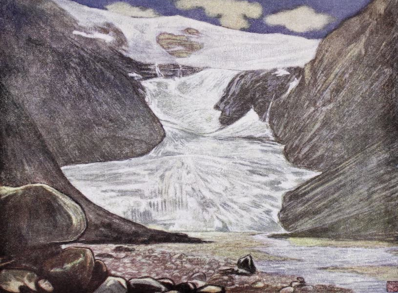 Norway, Painted and Described - Kjendalsbrae (1905)