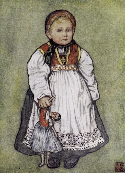 Norway, Painted and Described - A Baby of Telemarken (1905)