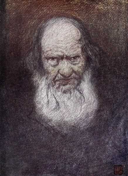 Norway, Painted and Described - Old Age, Telemarken (1905)