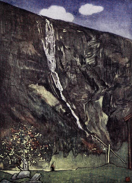 Norway, Painted and Described - Romsdals Waterfall (1905)