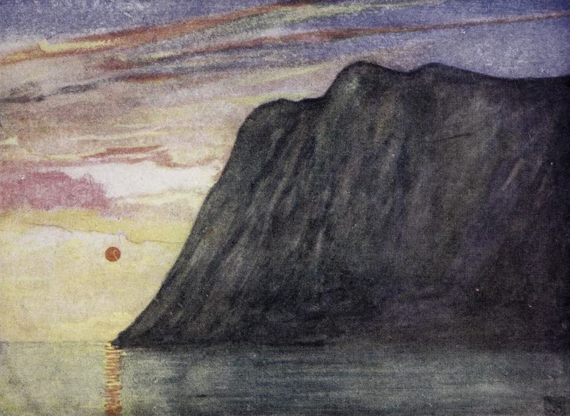 Norway, Painted and Described - The Midnight Sun (1905)