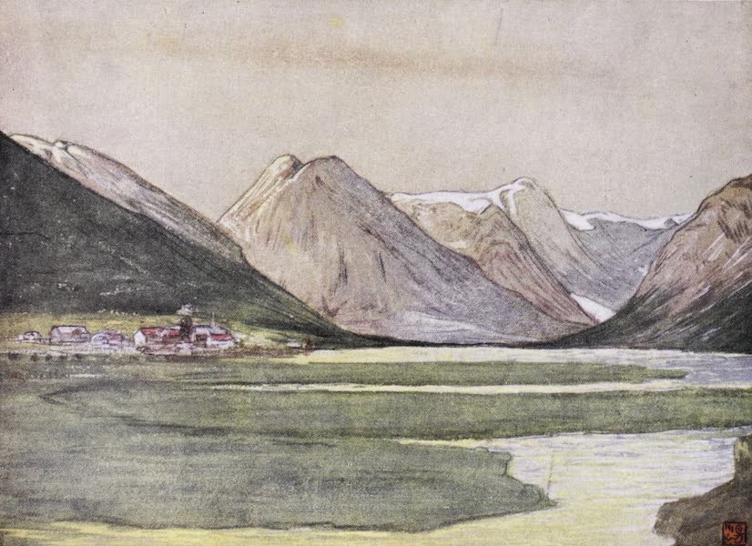 Norway, Painted and Described - Mundal, Fjaerland, Sognefjord (1905)