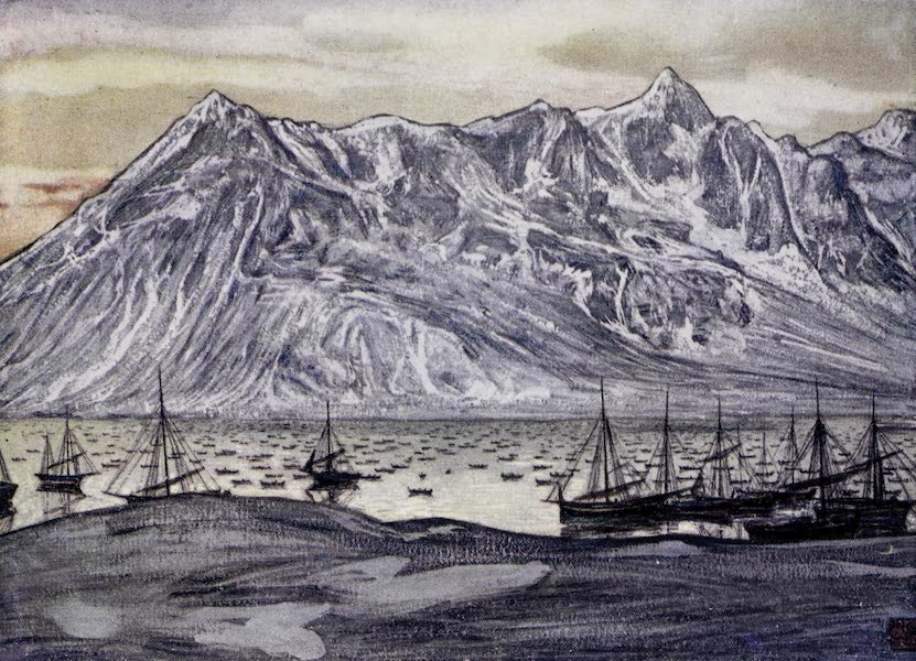 Norway, Painted and Described - Fishing-boats at Lofoten (1905)