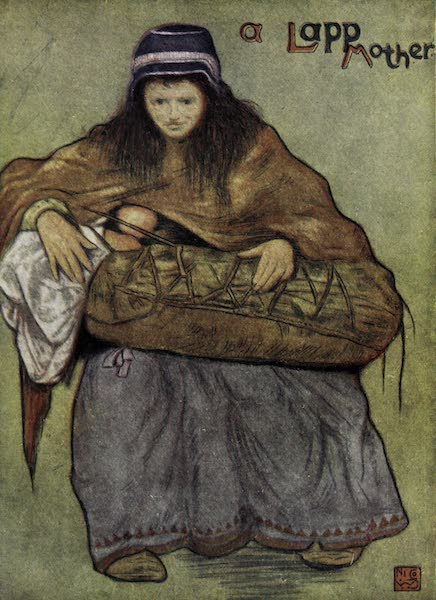 Norway, Painted and Described - A Lapp Mother and Child (1905)
