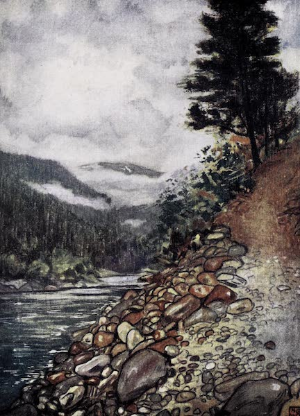 Norway, Painted and Described - River at Gjora (1905)