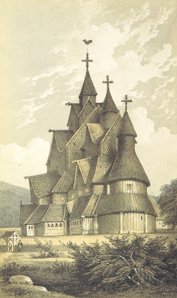Norway in 1848 and 1849 - Hitterdal Church (1850)