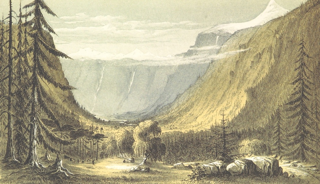 Norway in 1848 and 1849 - Valley of the Mean (1850)