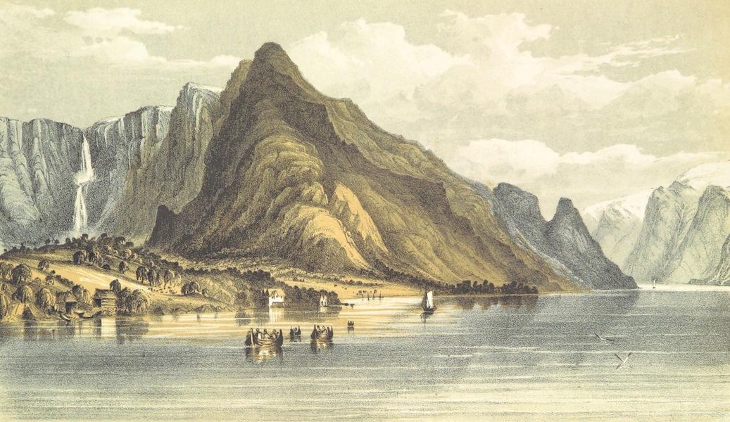 Norway in 1848 and 1849 - Ullensvang, Hardanger Fjord (1850)