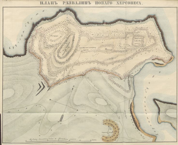 Notes and Recollections of the Russian Traveler in Russia - Map III (1848)
