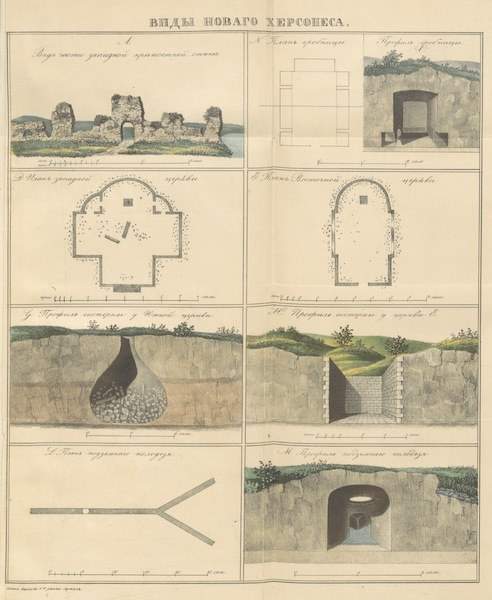 Notes and Recollections of the Russian Traveler in Russia - Views with Diagrams (1848)