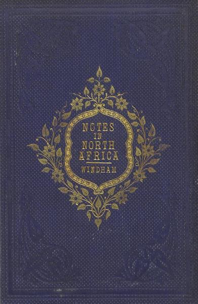 Notes in North Africa - Front Cover (1862)