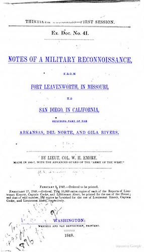 Notes of a Military Reconnaissance (1848)
