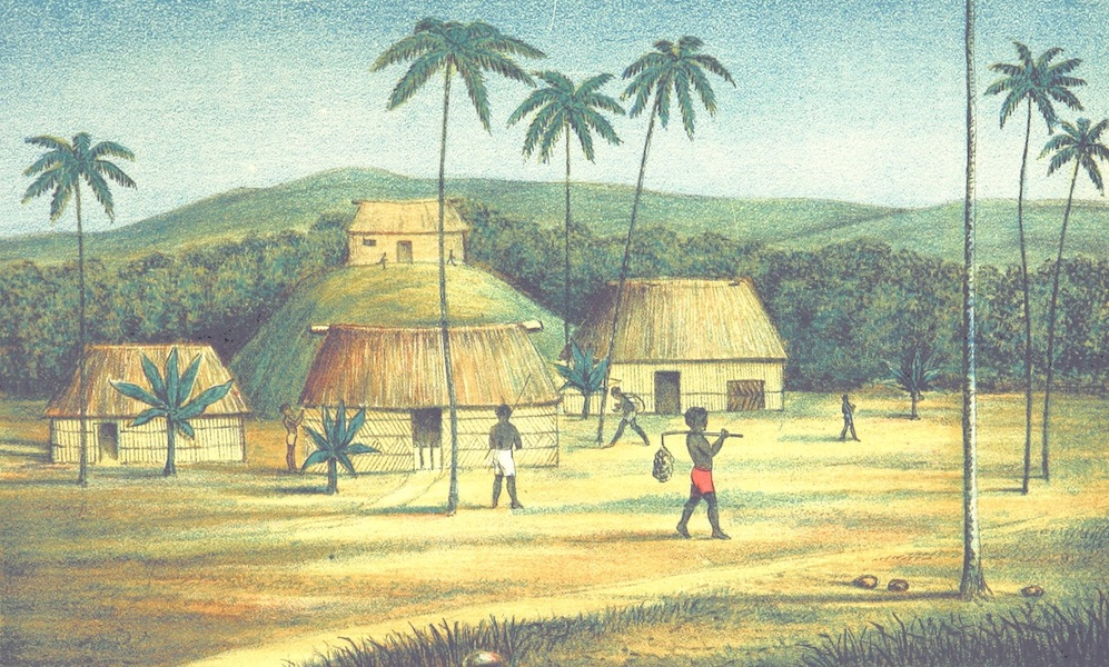 Notes of Travel in Fiji and New Caledonia - View in Moala, Fiji (1880)