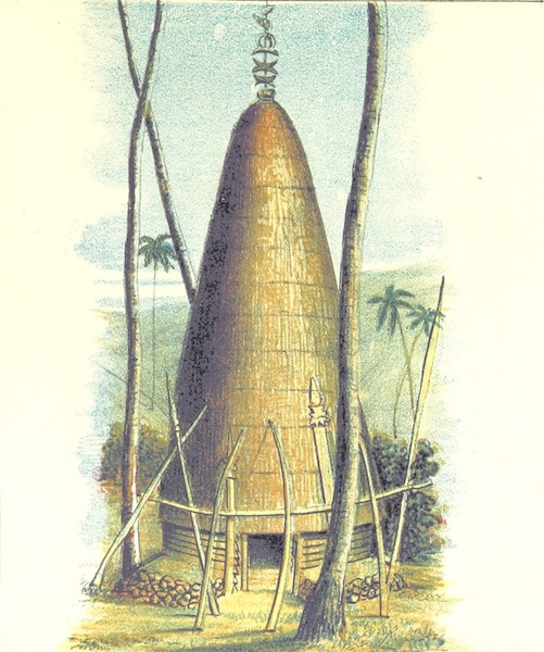 Notes of Travel in Fiji and New Caledonia - A New Caledonian Chief's Residence (1880)