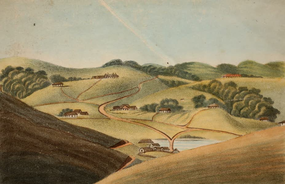 Observations on the Neilgherries - Ootacamund to the North of the Lake (Frontispiece) (1834)