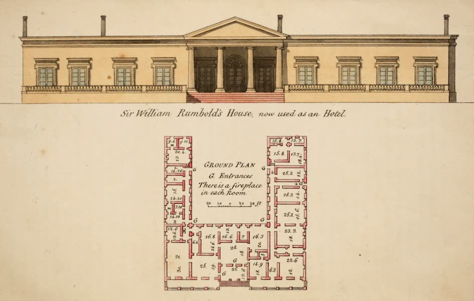 Observations on the Neilgherries - Sir William Rumbold's House, now used as an Hotel (1834)
