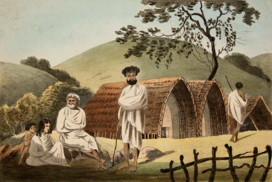Observations on the Neilgherries - A Today Family and Their Dwelling (1834)