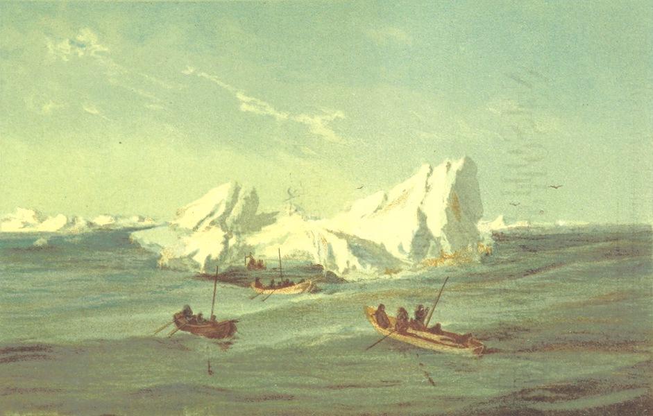 Oesterr.-Ungar. Arktische Expedition  - Das Verlassen des Eises Gezeichnet von Ed Orel (1879)