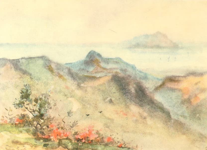Old and New Japan - And then sometimes even in Japan the Mist comes and obliterates the distant Landscape (1907)